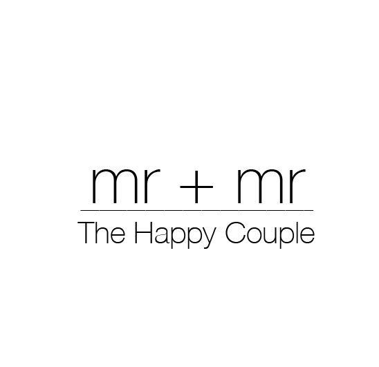 text on inside of card mister and mister the happy couple