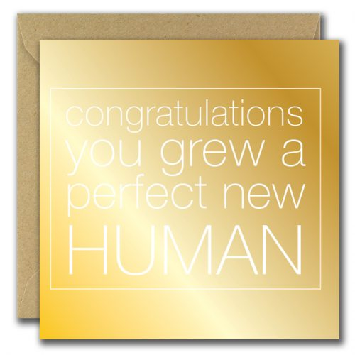 congratulations greeting card on new baby