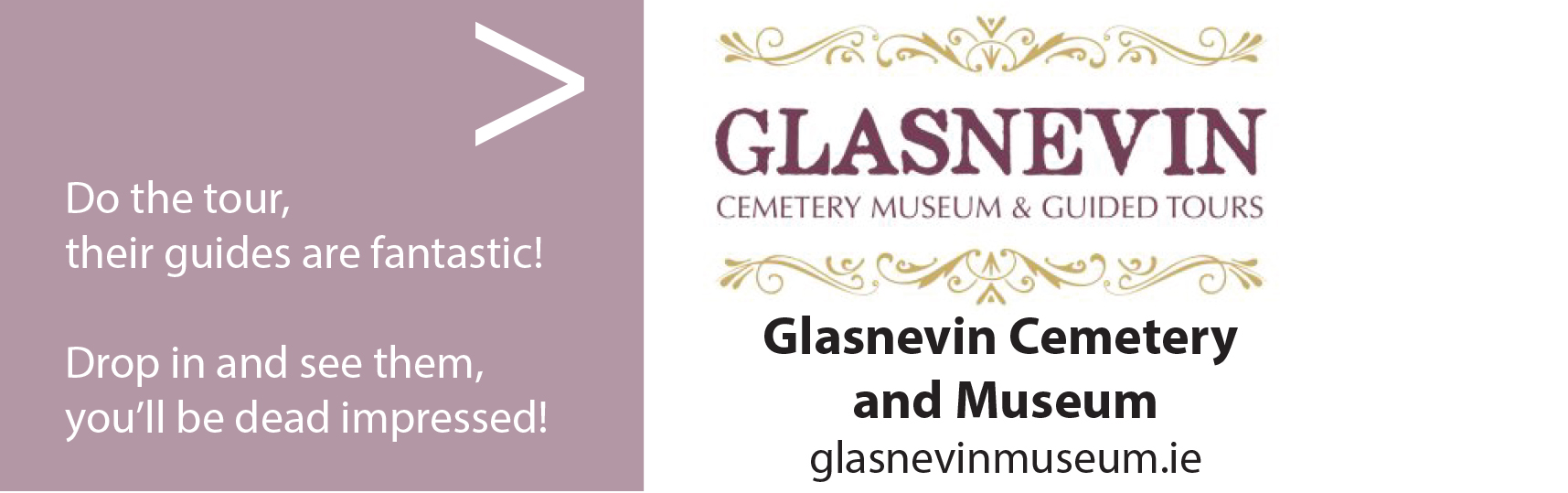 glasnevin cemetery and museum logo
