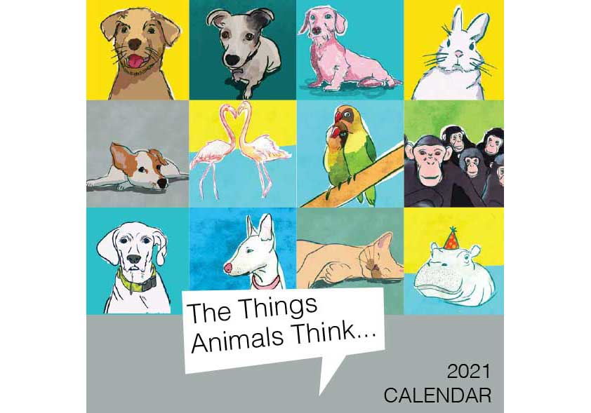The things animal think calendar