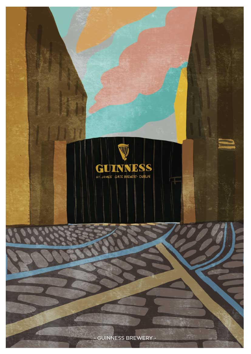 Guimnness Brewery Gate