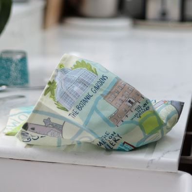 Dublin Map Tea Towels