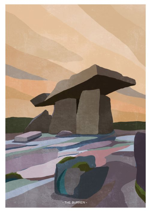 Art Print of The Burren