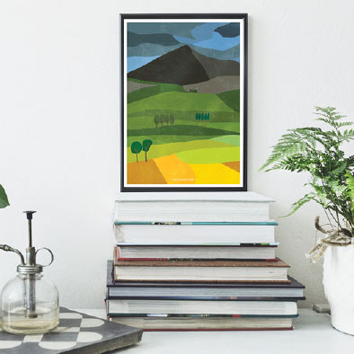 Landscape Ireland Wall Prints