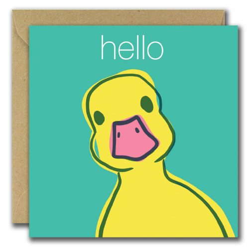 Hello Ducky Card